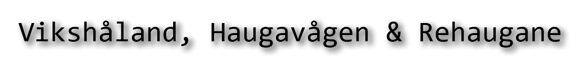Vikshåland, Haugavågen & Rehaugane